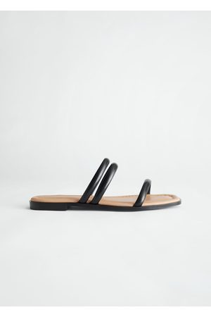 & OTHER STORIES Padded Leather Sandals