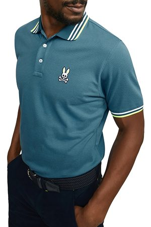 Bunny Woburn Sports Tipped Logo Classic Fit Polo Shirt