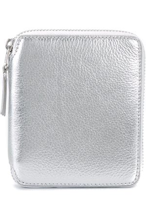 Comme des Garçons Wallets - Metallic zip wallet