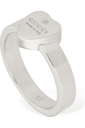 Gucci Women Rings - Logo Heart Ring