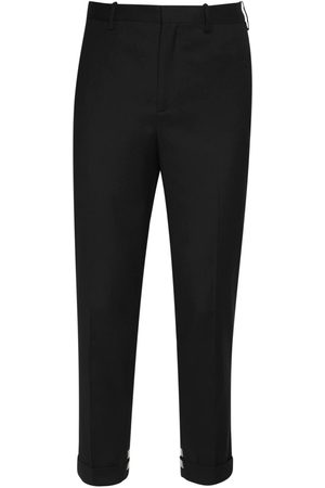Neil Barrett Cotton Blend Gabardine Pants