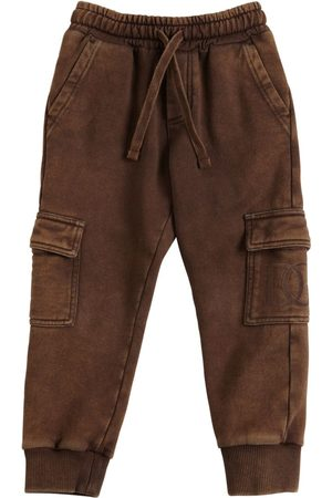 Dolce & Gabbana Boys Cargo Pants - Cotton Cargo Sweatpants