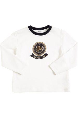 Dolce & Gabbana Boys T-shirts - Printed Jersey L/s T-shirt