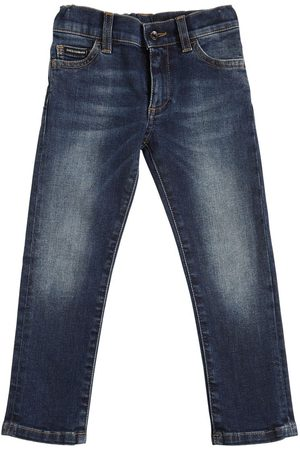 Dolce & Gabbana Boys Stretch - Stretch Cotton Jeans