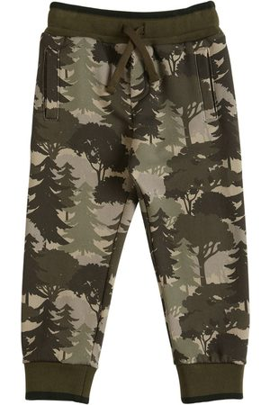Dolce & Gabbana Boys Sweatpants - Printed Cotton Sweatpants