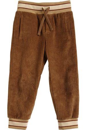 Dolce & Gabbana Velvet Sweatpants