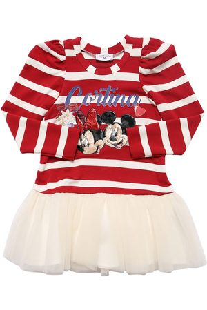 MONNALISA Minnie & Mickey Dress