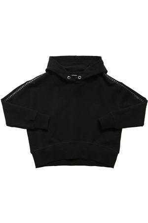 Diesel Logo Cotton Sweatshirt Hoodie