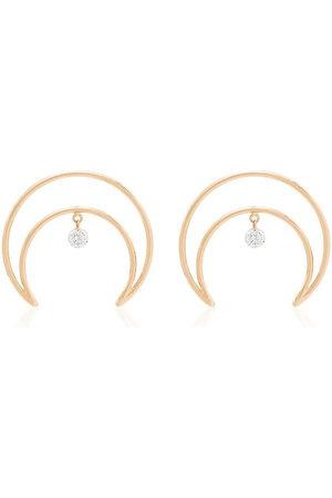 PERSÉE Women Earrings - 18kt crescent moon earrings
