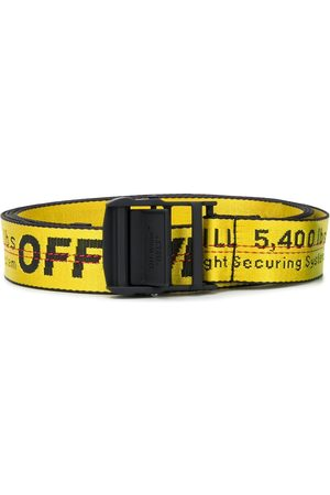 OFF-WHITE Men Belts - Industrial logo belt