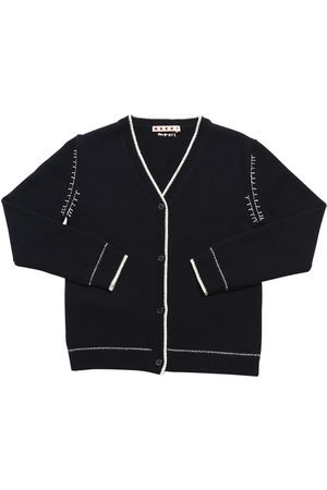 Marni Wool & Cashmere Blend Knit Cardigan