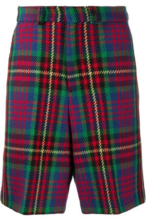 Ami Plaid Bermuda shorts