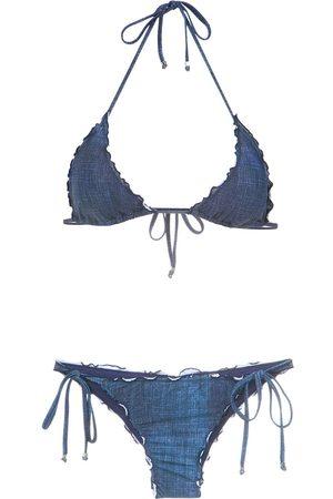 AMIR SLAMA Denim bikini set