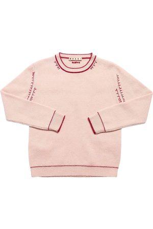 Marni Wool & Cashmere Blend Knit Sweater