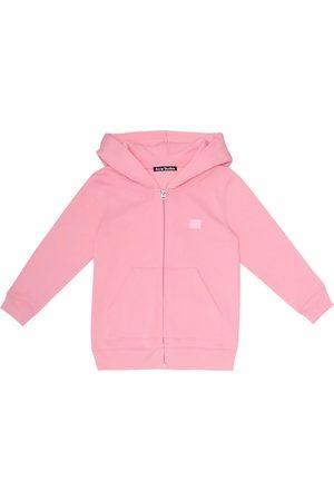 Acne Studios Mini Ferris Face cotton hoodie