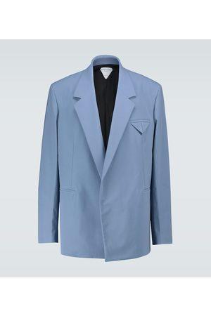Bottega Veneta Stretch nylon double-breasted blazer