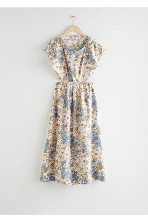 & OTHER STORIES Women Maxi Dresses - Elasticated Waist Maxi Dress
