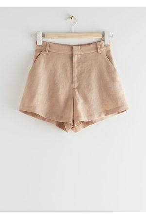 & OTHER STORIES Women Shorts - Linen Shorts