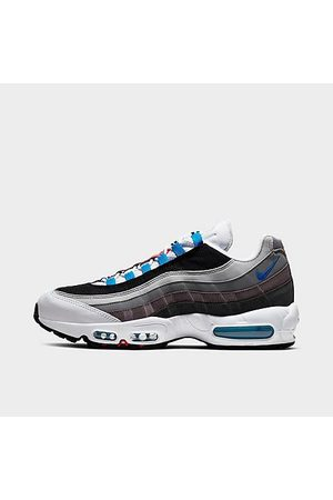 Nike Men's Air Max 95 QS Casual Shoes in Grey Size 8.0 Leather