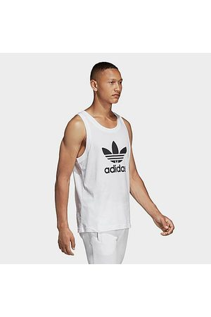 adidas Men's Originals Trefoil Tank Top in / Size X-Large 100% Cotton/Jersey