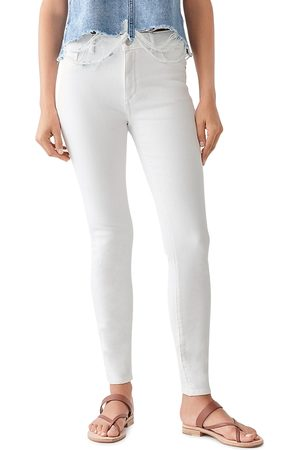 Dl 1961 Florence Skinny Jeans in Milk