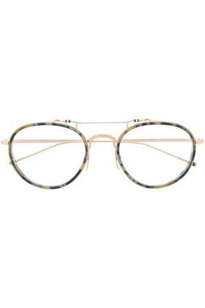 Thom Browne Eyewear Sunglasses - Round-frame eye glasses