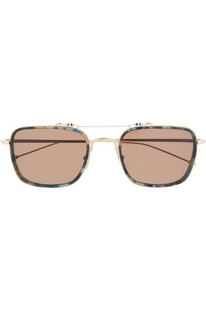 Thom Browne Rectangular-frame sunglasses
