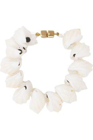 Prada Shell embellish bracelet