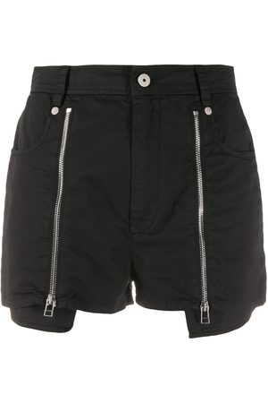 Mr & Mrs Italy Zip-detail fitted shorts