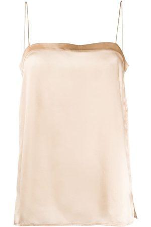 ERES Square neck slip vest