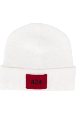 424 FAIRFAX Logo patch beanie