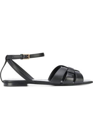 Saint Laurent Tribute buckled sandals