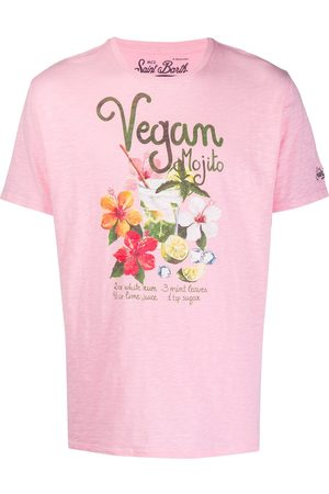 MC2 SAINT BARTH Vegan mojito print T-shirt