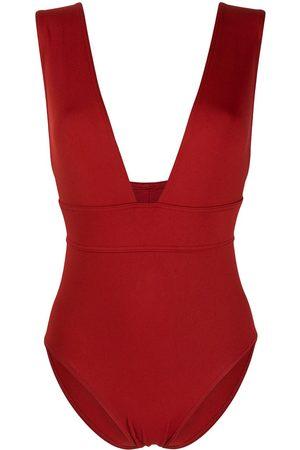 ERES Pigment V-neck swimsuit