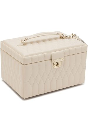 Wolf Women Jewelry - Quilted jewellery box - Neutrals
