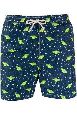 MC2 SAINT BARTH Ufology 61-print swim shorts