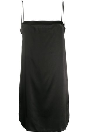 ERES Square neck silk slip dress
