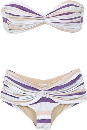 AMIR SLAMA Women Bikinis - Striped bikini