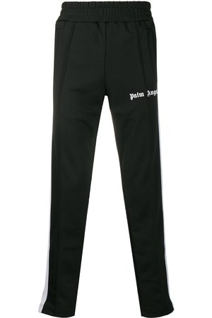 Palm Angels Logo-print slim track pants