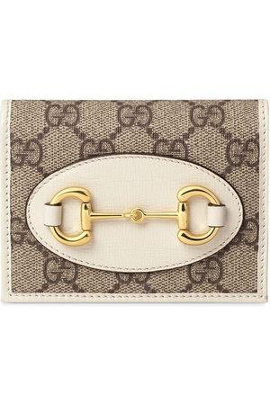 Gucci 1955 Horsebit card case wallet - Neutrals