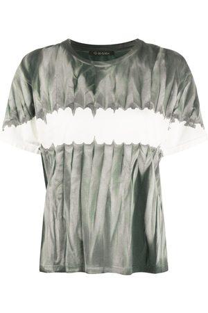Mr & Mrs Italy Tie-dye colour block T-shirt