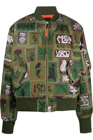 KTZ Monster patch bomber jacket