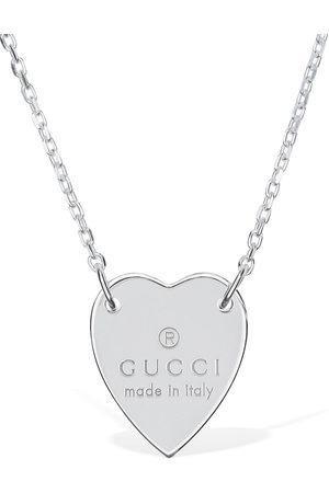 Gucci 48cm Heart Necklace