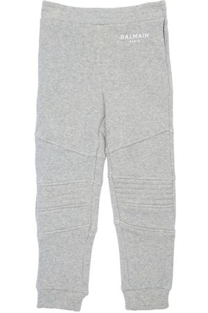 Balmain Logo Cotton Blend Sweatpants