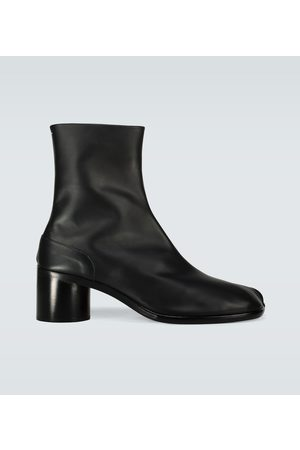 Maison Margiela Men Biker Boots - Tabi leather boots