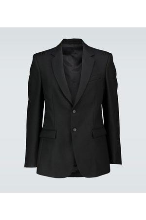 WARDROBE.NYC Single-breasted wool blazer