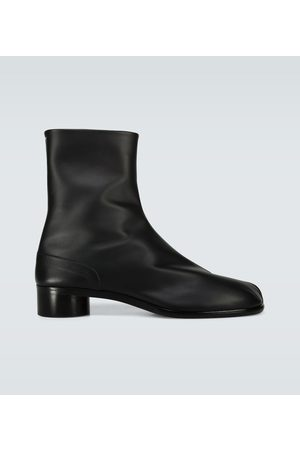 Maison Margiela Tabi high-ankle leather boots