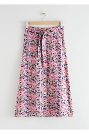 & OTHER STORIES Buttoned Midi Skirt