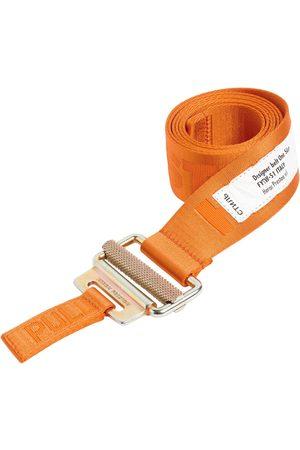 Heron Preston Men Belts - 4cm Logo Tech Webbing Belt