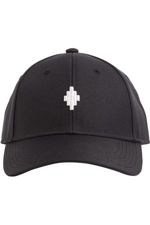 MARCELO BURLON Starter Cross Logo Tech Canvas Cap